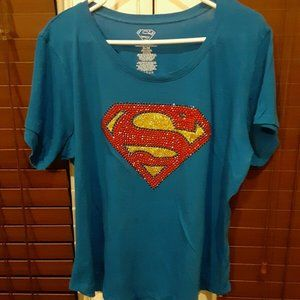 Super Woman Graphic T-Shirt  XL